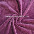 Super macio 100% poliéster tecido de veludo para sofa, cadeira, almofada, estofados, tecido de veludo