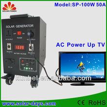 100W solar energy system, solar power system, solar panel system