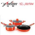 5 pcs não- stick utensíliosdecozinha para saucepot/frigideira/milkpot