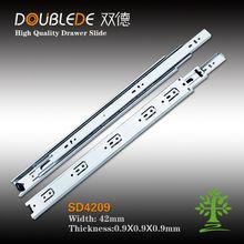 3 folding drawer slide/telescopic drawer channel/mini drawer slide