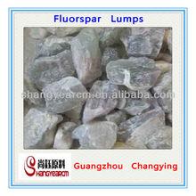 Natural lumps 80% -85% Fluorspar lumps 80% -85%