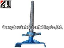 Adjustable screw jacks price of manufacturer (factory in Guangzhou)