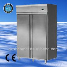 Luxury Type 0.5mm Stainless Steel upright fridge