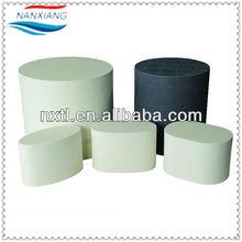 metallic honeycomb ceramic substrate catalytic converter