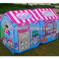 loja casa as crianças brincam tenda