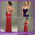 eine edle strass schulter backless sexy design kreative modell die schönste abendkleid
