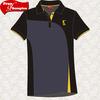 (SSG-4)Free sample black and yellow custom polo shirt