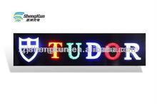 Outdoor LED diamond sample Signboard new Design stainless steel diamond led letters