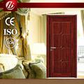 الصلبة الداخلية الباب الخشبي الداخلي الباب الجلد قشرة الخشب الطبيعي