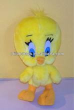 Yellow Tweety Bird Plush toys for kid