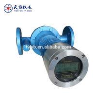 High temperature marine oil tank flow meter