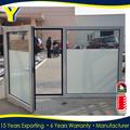 شهادة المعيار الأسترالي as2047 as2208 الالومنيوم نافذة بابية مع الزجاج المزدوج الزجاج