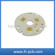 white aluminium round led pcb
