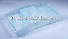 Frost Acrylic hotel amenity tray