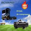 dc powered 12 volt truck air conditioner spare parts R134A mini dc compresor KFB135Z24 for car kit aria condizionata camion