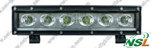 10'' off road 4X4 30W LED light bar single row for trucks,SUV