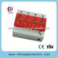 380V-80KA tres protector de sobretensión monofásica / supresor de sobretensiones transitorias