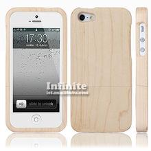 maple wood plain mobile phone cases