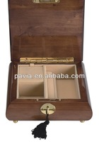 hot sale wooden gift music box with high gloss finish