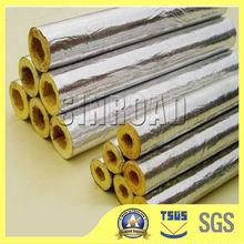 Top quality fiberglass pipe insulation