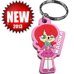 Custom PVC Rubber Keychain/ Custom Soft PVC Keychain/ Custom Key Chain