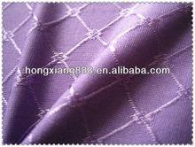 Jacquard Elastic Nylon Spandex Weft Knitted Checker Ladies Underwear Fabric