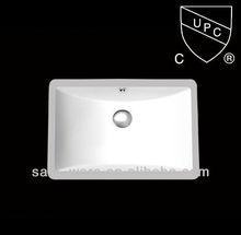 CUPC American standard rectangular counter wash basins from Foshan manufacturer SN-024