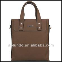 new arrival fashion leather men handbag