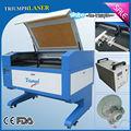 Lazer oyma makinesi yuvarlak nesneleri tr-9060 ce fda sertifika yüksek kaliteli rekabetçi fiyat