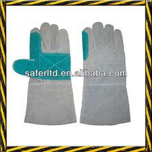 Long Welding Leather Gloves/ cow split welder's gloves/cow split working gloves