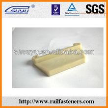 Calibre de ferrocarril aisladores placa/p2 hormigón sleeper/91lb rieles