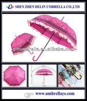 All kinds pretty ladies umbrella dress