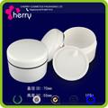 Jar pp, double paroi pot de crème pp, pot en plastique 15g, 30g, 50g, 100g, 150g, 200g, 250g, 300g, 400g, 500g