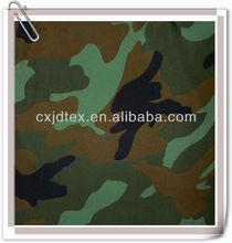 170T Polyester camouflage waterproof tent taffeta fabric