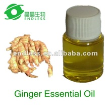 Pure ginger essential oil