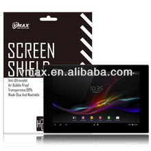 Tablet screen protective film for Sony Xperia Tablet Z with high quality OEM/ODM