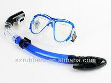 Durable Scuba diving regulator mask and snorkel