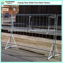 1.8 meter light weight crowd control fencing panel