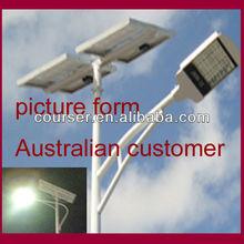 high power top quality solar street light fixture ,solar streetlight with 5 years warranty Zhongke technology