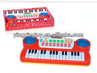 Hot sale kids plastic toy musical keyboard electric keyboard