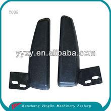 Universal used non-adjustable PU forklift seat armrest