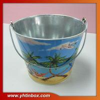metal beer ice bucket