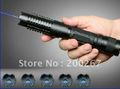 Buey láseres OX-BX4 2000 mW 2 W 447nm-450nm enfocable ardiente azul puntero láser con 5 patrón heads encienda los fuegos artificiales de aluminio + ca