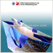 beautiful and colorful printing non woven bag