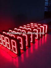 Australia project Super waterproof gas/petrol price sign 7 Segment LED Gas Price Display