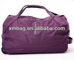 waterproof nylon trolley travel bag