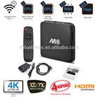 M8 Amlogic S802 Quad Core Android TV Box 2G/8G Mali450 GPU 4K HDMI XBMC media player