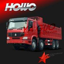 populor 8*4 diesel 336hp euro II dump truck