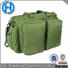 Canvas military shoulder bag