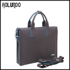 Men's leather bag top brand best travel briefcase